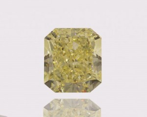 5.26ct Fancy Yellow, SI2 Imag Radiant