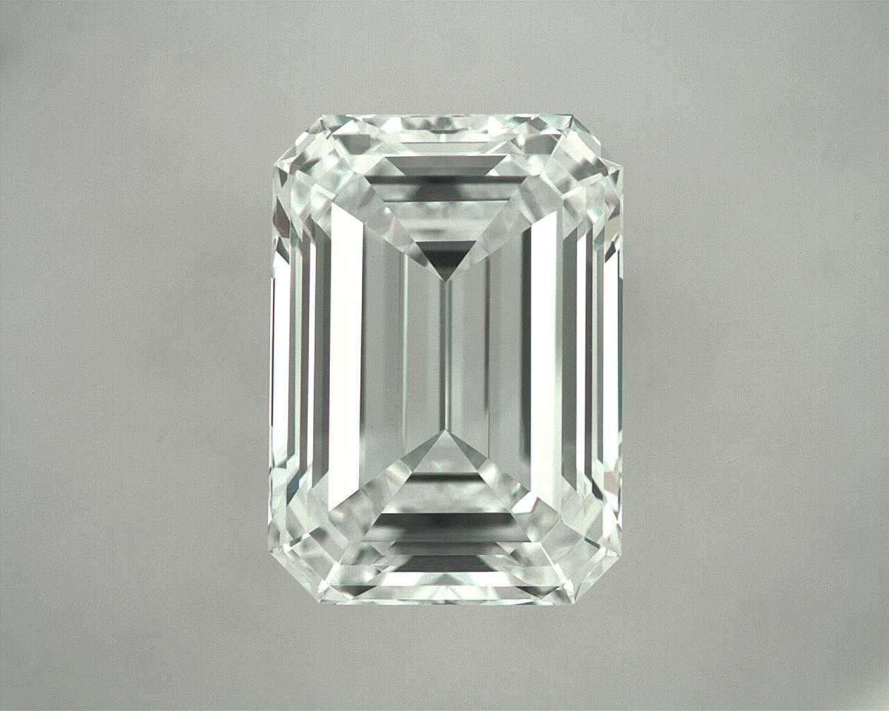 1.02ct D IF (Internally Flawless) Emerald Cut GIA